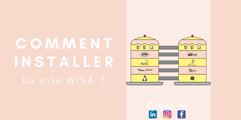 Comment installer la pile WISA : (Windows, IIS, SQL, ASP.NET)